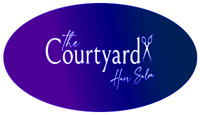 The courtyard logo - oval